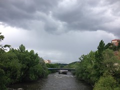 May 13, 2016 2:47pm 02 (seriouscatlady) Tags: bridge trees sky nature rain weather clouds river dark grey afternoon wind cloudy natur himmel wolken grau windy graz brcke fluss mur bume gewitter regen murinsel wetter frhling iphone wolkig regenwetter cloudyday unwetter nachmittag bewlkt windig dster mursteg hauptbrcke iphoneography