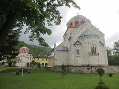Apse end, Church of the Virgin Mary, Studenica Monastery, Serbia (Paul McClure DC) Tags: church architecture serbia historic monastery balkans studenica may2016