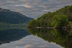 reflections on the loch (MC Snapper78) Tags: reflection reflections landscape reflecting scotland hills lochlomond nikond3300 marilynconnor