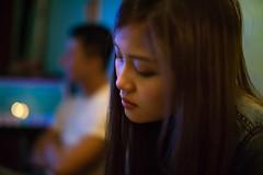 Felia (Randy Wei) Tags: portrait people girl 35mm bokeh taiwan fujifilm dreamy taipei speedmaster f095 zhongyi xe1 mitakon