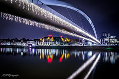 Hoegbrok Maastricht (PrevooFotografie) Tags: water maastricht nacht maas reflectie
