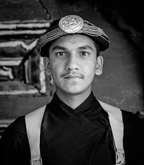Traditional Nepalise guard (Gerrykerr) Tags: nepal flickr 2016 instagram