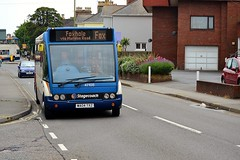 Stagecoach South West Optare Solo (47108) (MancPhotographer2014) Tags: street uk england southwest west bus english buses station riviera estate hole south transport company journey solo transportation fox vehicle service brand branding stagecoach foxhole minibus paignton the optare