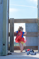 Getting Ready to Take on the World (Emily Kistler) Tags: portrait beach outdoors sand nikon toddler child florida d750 cape supergirl sandkeypark