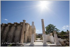 La bibliothque dHadrien (Christophe Hamieau) Tags: antiquity athens athnes europe greece grce labibliothquedhadrien antic antiquit greektemple ruin ruine templegrec