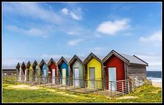 Bathing Huts (Zetach) Tags: northumberland blythe beachhuts