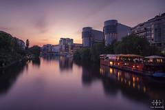_DSC1892-1_web (oolcgoo) Tags: sunset berlin architecture river germany deutschland europa europe long exposure sundown sony adobe alpha spree slt amount haupstadt apsc a77mii
