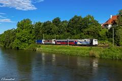 Lokomotion 139 177 mit RoLa 43848 (TheKnaeggebrot) Tags: 139 volkmannsdorf rola landstrasse bte lokomotion rollende rollendelandstrasse 139177 regensburghafen kbs930