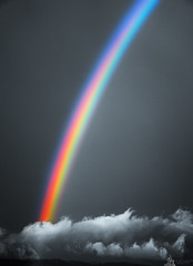 Meteorological Phenomena (LeWelsch Photo) Tags: cloud colors switzerland rainbow sony vivid bern alpha colorsplash regenbogen arcenciel phenomena vividcolors meteorological lewelsch a6000 sel55210 ilce6000 weare500px