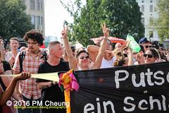 X*CSD 2016 - Yalla auf die Strae! Queer bleibt radikal! / Yalla to the streets  queer stays radical!  25.06.2016  Berlin - IMG_5317 (PM Cheung) Tags: kreuzberg refugees parade demonstration queer polizei so36 csd neuklln 2016 christopherstreetday ausbeutung heinrichplatz flchtlinge rassismus sexismus homophobie xcsd diskriminierung oranienplatz transgenialercsd csdberlin m99 heteronormativitt tcsd berlincsd lgbtqi gentrifizierung oplatz pmcheung csdkreuzberg pomengcheung sdblock facebookcompmcheungphotography gerharthauptmannrealschule transgendern eincsdinkreuzberg mengcheungpo friedel54 yallaaufdiestrasequeerbleibtradikal kreuzbergercsd2016 yallatothestreetsqueerstaysradical christopherstreetday2016 euro2016fussballem 25062016