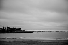 Caroline Bay Adventure in BW (watt.katrina110) Tags: newzealand bw white black beach fountain peace mask nz timaru beachscape carolinebay