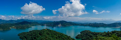 Sunny Sun Moon Lake (Changer4Ever) Tags: mountain lake water sky cloud blue green nikon d7200 mountains outdoor nature life travel scenic landscape color colorful reflection