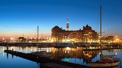 Bataviahaven Lelystad long exposure