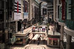 The Galleria (BB ON) Tags: longexposure light people toronto ontario canada glass architecture mall interior crowd eaton eatoncentre galleria
