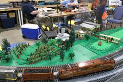 BW_16_Penn-Tex_045 (SavaTheAggie) Tags: pennlug tbrr pentex texas brick railroad train trains layout steam engine locomotive locomotives display yard city