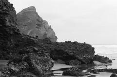 Piha (Jim Davies) Tags: newzealand northisland aotearoa photography analogue film veebotique 35mm roadtrip olympus om10 50mm slr 400asa monochrome analog auckland kodak bw400cn chromogenic c41 piha beach volcanic tasmansea coast manukauharbour waitakereranges blacksandbeach