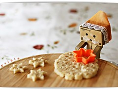 DanboGl'n elinden (g  L  L e) Tags: orange toy star ginger amazon cookie dough paste chef kurabiye danbo kalp yldz hamur zencefil danboard