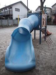 すべり台 (がじゅ) Tags: 散歩 公園 西荻窪 すべり台 epl2