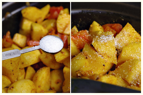 Slow-Cooked Bombay Potatoes