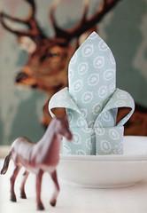 Origami création - Didier Boursin - Fleur de lys