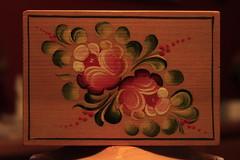 IMG_0019 - Painted Flowers 03032012 (Orange Barn) Tags: woodenbox paintedflowers oldschoolphotochallenge