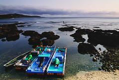 ( ) Tags: ocean sunset coast boat taiwan      kenting 2012 coralreef
