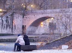Love in progress (E.Ridolfi) Tags: bridge rome roma love passion amore feelings passione ponti sentimenti