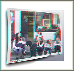 Curb Resting (starg82343) Tags: street door family girls dog pet window kids youth manipulated children mom outdoors effects store stereoscopic 3d holding border young mother canine manipulation siblings stereo poodle frame resting fx curb k9 sfx paved digitallymanipulated stereoscopy stereographic ewf digitallyaltered brianwallace eastonwaterfowlfestival