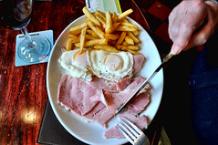 My Father's Favourite (marty_pinker) Tags: chips eggs countryham publunch
