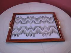 (M. Inês) Tags: artesanato bordado bandeja vagonite