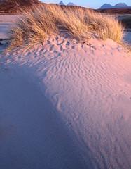 Achnahaird (Simon.Harrison) Tags: pink bay scotland sand patterns stac pollaidh highland marram benmorecoigach coigach achnahaird