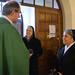 Sr. Seraphine im Begrüßungsgottesdienst, Kassel St. Joseph