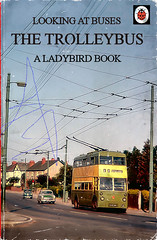 Another impossibly hard to find book (Lady Wulfrun) Tags: book ladybird trolleybus wolverhampton merryhill bradmore trysullroad marneldrive