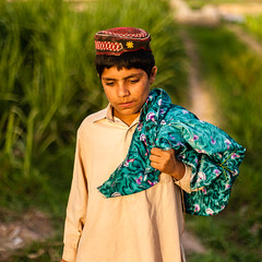 Pukhtun boy in field (damonlynch) Tags: pakistan boy people male nature field hat youth rural standing outside outdoors person evening stand scenery asia warm thought child emotion outdoor masculine islam religion hats thoughtful warmth peaceful calm human crop thinking lad land crops serene concept emotional agriculture conceptual emotions juvenile contemplate nwfp pabbi humanbeing youngman hold magichour lostinthought humans goldenhour contemplating contemplation pathan concepts humanbeings southasia southasian agronomy pakhtun croplands northwestfrontierprovince pashtun agriculturallands 412yearsold rurallandscape sunnimuslim pushtun pakhtunkhwa pukhtun sunniislam khyberpakhtunkhwa