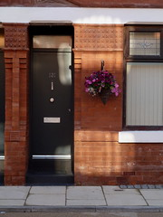 House and doorway on Beresford Street
