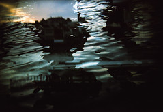 Pour moi (famnighjarta) Tags: film water holga exposure floating double thoughts 200 vista analogue cheap