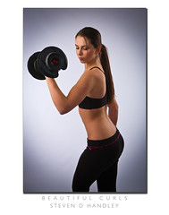 Beautiful Curls (NKP Images) Tags: sexy beautiful female workout