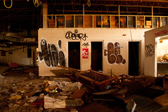 (break.things) Tags: ny newyork abandoned graffiti pear ha dama ce hater celf