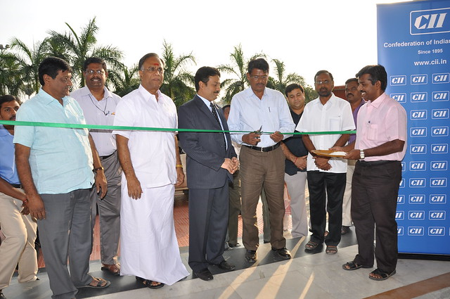 CII Erode Zone organised a five day Grand Expo 2012 in Erode on 13-17 January 2012. Mr VK SHANMUGAM IAS, District Collector, Erode District inaugurated the fair.