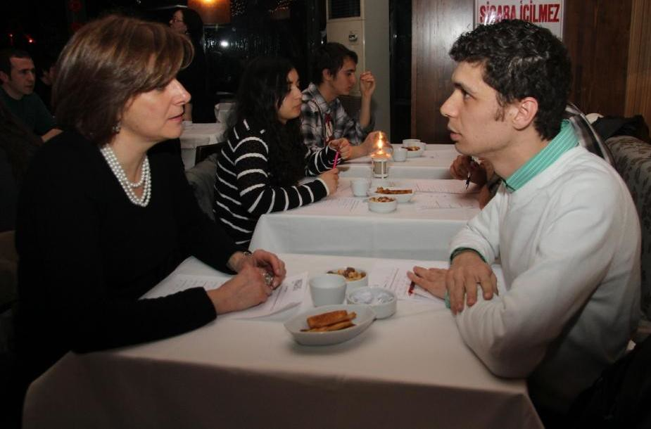 speed dating izmir pros and cons about dating in high school