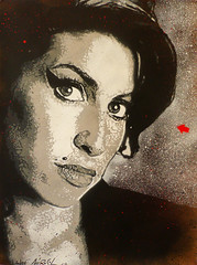 Jef Arosol 2012 - Amy Winehouse (Jef Aerosol) Tags: show california portrait music streetart france english jeff rock paper french dead graffiti star oakland stencil amy rockstar contemporaryart tag craft urbanart exposition popart jef layers spraypaint aerosol rue papier bombe spraycan kraft rehab amywinehouse winehouse urbain pochoir plantilla bombage contemporain deadrockstars spokeart jefarosol schablon mattdye bluntgraffix