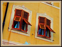 (John Goulart Jr., Art and Travel Photography) Tags: windows shutters camogli trompeloeil italianriviera jgou ladyxanaxthecracksinyourmakeuparestartingtoshow