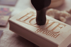6619 (thehomeground) Tags: identity packaging custom rubberstamp branding homeground