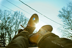 Enjoy the Day (MARVelous Photos) Tags: sun fashion project amazing cool boots flare 365 split tone