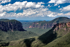 Blue Mountains National Park (The Burgys) Tags: blue trees shadow sky mountains clouds sony australia bluemountains nsw newsouthwales a700 bluemountainsnationalpark sonya700