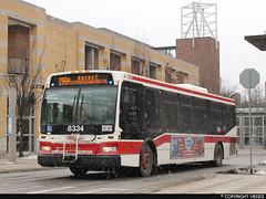 Toronto Transit Commission #8334 (vb5215's Transportation Gallery) Tags: toronto ttc transit orion commission vii 2011 epa10