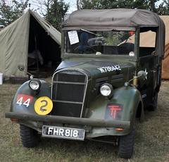 Utility Pick Up Truck (colinfpickett) Tags: usa green english truck army interesting war jeep military rally pickup lorry ww2 soldiers van fighting essex halftrack militaryvehicle staffcar