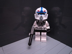 Clone Pilot Hawk Season Four (Dutch Micro Figures) Tags: season four star lego hawk 4 wars clone pilot