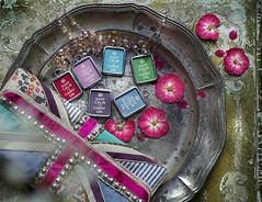 ALL COLORS KEEP CALM & CARRY ON - RETRO CHARMS (Alicja Radej Arte Ego) Tags: glass handmade oneofakind jewelry jewelery retrocharm