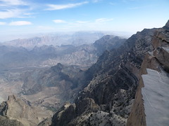 Looking east from the trail to the summit of Jebel Shams (John Steedman) Tags: oman  sultanateofoman   jebelshams